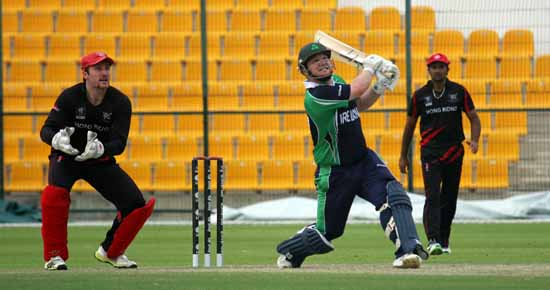Paul Stirling, Ireland v Hong Kong 2013