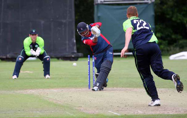 Two wickets in two balls for Kevin O'Brien as Ireland easily defeated Nepal