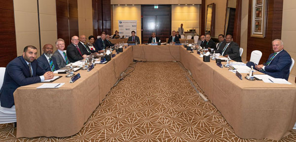 The ICC Board meeting in Dubai