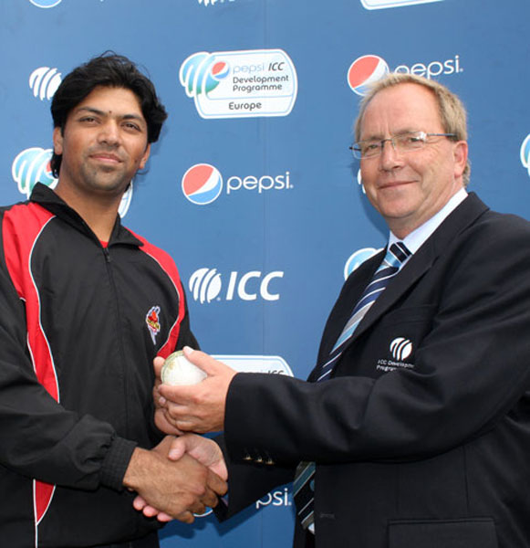 Amir Naeem scored a century and took 5 stumpings against Croatia in the European Division 2 match in 2011