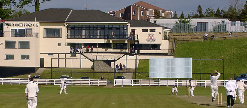 The Limavady ground and clubhouse