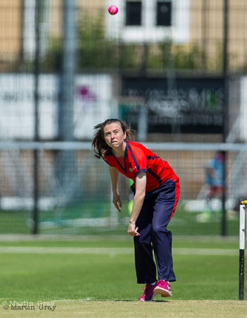Chloe Greechan, Jersey Cricket Board's Performance and Development Officer