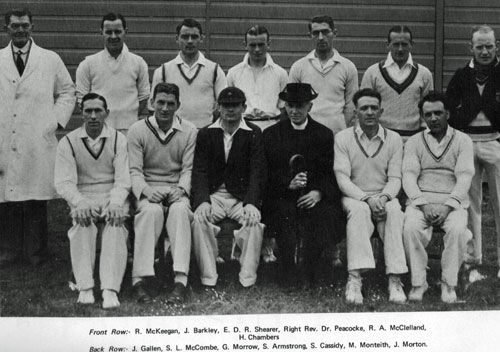 The 1936 City of Derry team