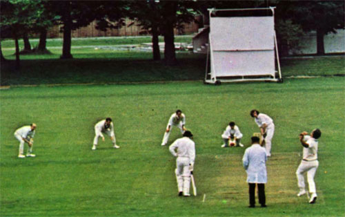 Irish Universities v Leprechauns 1973: Bowling to Jack Short