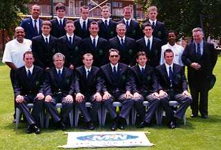 The Ireland squad at 1998 Under 19 World Cup