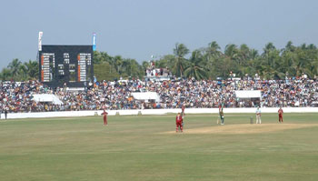 A packed ground during the 2004 Under 19 World Cup