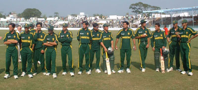 The Bangladesh squad